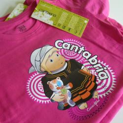 Camiseta niña - Cantabruca