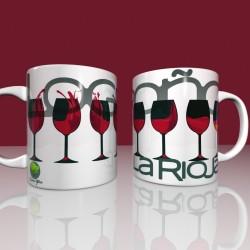 Taza copas de Rioja