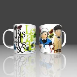 Mug couple landaise