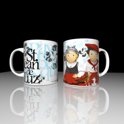 Mug couple basque