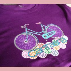 Camiseta mujer - bicicleta...