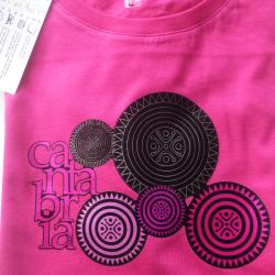 Camiseta mujer - estelas de...
