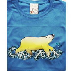 Camiseta hombre - oso que nada