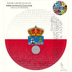 Pegatina bandera Cantabria