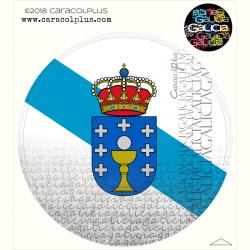 Pegatina bandera Galicia...