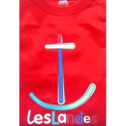 T-shirt bébé - ancre de...