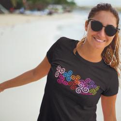 Camiseta mujer - Triskeles...