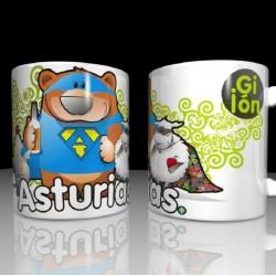 Asturhéroes Mug - choisit...