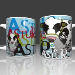Asturian cow Mug