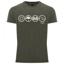 Camiseta hombre - El tiempo...