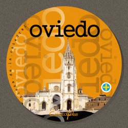 Magnet Oviedo's Cathedral