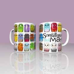 Owls Mug - Santillana del Mar