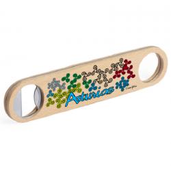 Bottle wood opener - Asturias