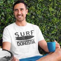 Man T-shirt - black Surf...