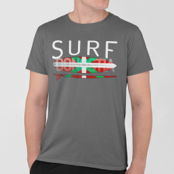 Man T-shirt - Surf Ikurriña...