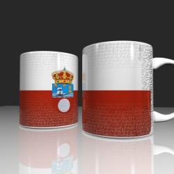 Taza con bandera Cantabria