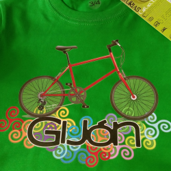 T-shirt boy - bike and...