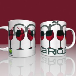 Mug wine glasses - La Rioja