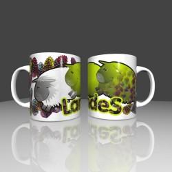 Mug with small sheep - Landes