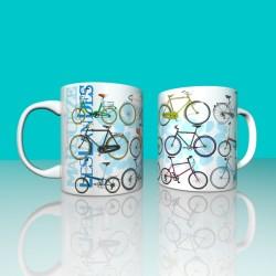 Taza bicicletas Las Landas...