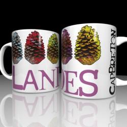 Taza con piñas - Landes -...