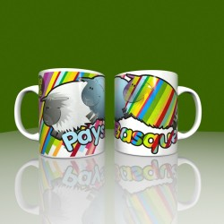 Mug striped sheep Pays Basque