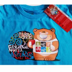 Camiseta niño - oso...