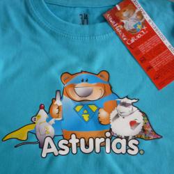 Camiseta niño - Asturhéroes