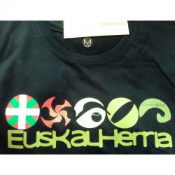 Man T-shirt - 5 Euskalherria