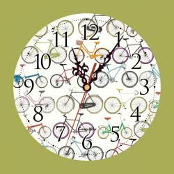 Clock Bicycle