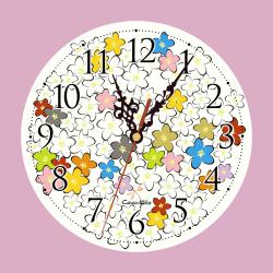 Reloj Flores de Manzano