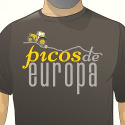 Camiseta hombre - Picos de...