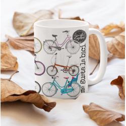 Taza bicicletas -...
