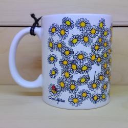 Mug Daisies - customizable