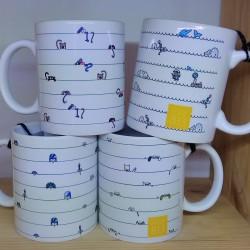 fab813 Pack 4 mugs
