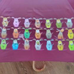 Paraguas Perros de colores