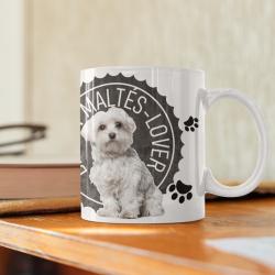 Maltese lover Mug -...