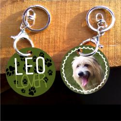 My pet Lover Keychain -...