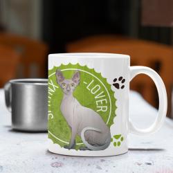 Sphynx cat lover Mug -...